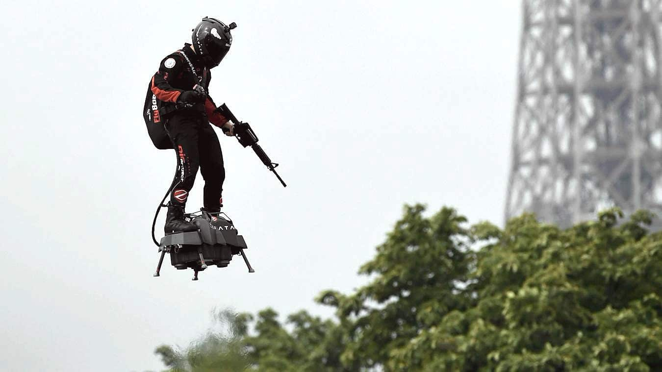 Franky Zapata Flyboard Air