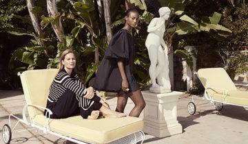 Le glamour de l'âge d'or du train inspire la nouvelle collection H&M Conscious Exclusive.
