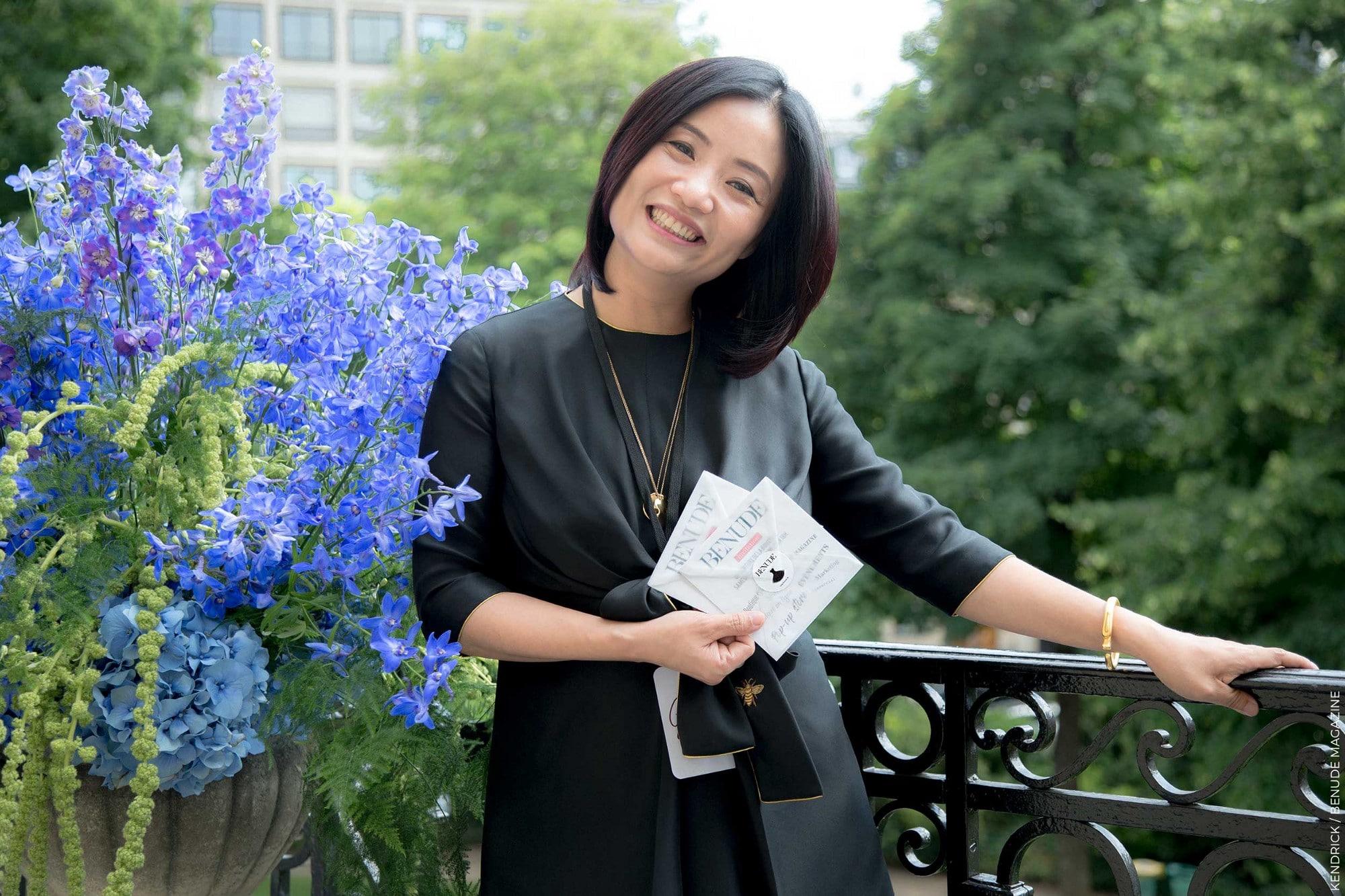 Guo Pei à l'hôtel Salmon de Rothschild photo Kendrick