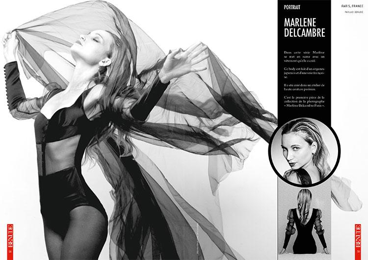 BENUDE magazine Marlene Delcambre