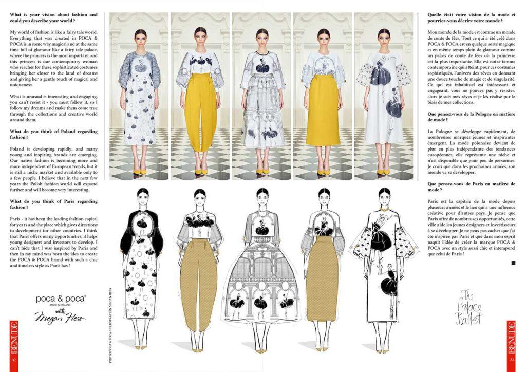 BENUDE magazine Poca Poca Megan Hess magazine