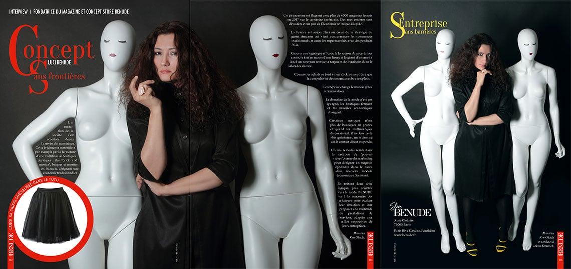benude magazine concept store