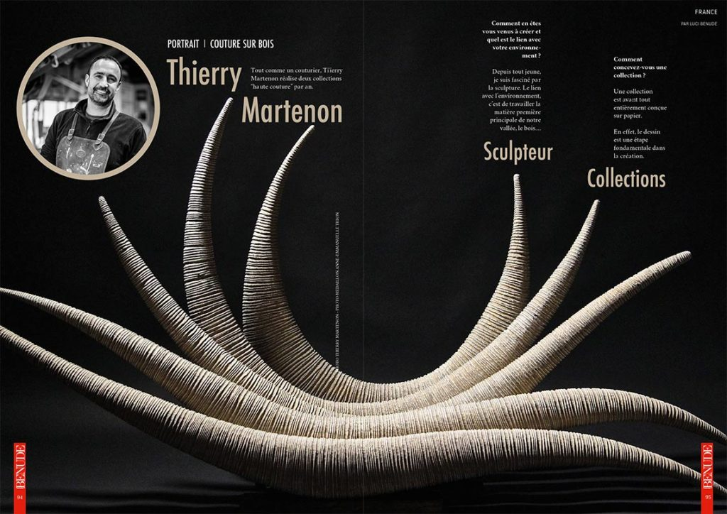 benude magazine thierry martenon