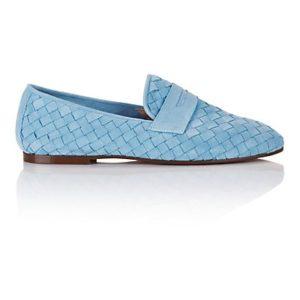 MADELEINE Mocassins femme bleu layette / bleu
