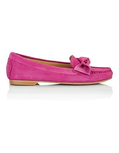 MADELEINE Mocassins femme pink / rose vif