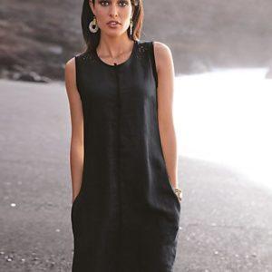 MADELEINE Robe femme noir