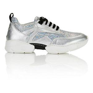 MADELEINE Sneakers femme argenté