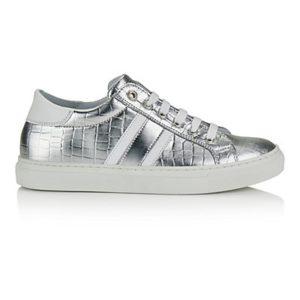MADELEINE Sneakers femme argenté/blanc / argenté