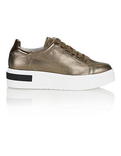 MADELEINE Sneakers femme kaki / marron