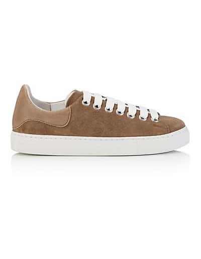 MADELEINE Sneakers femme taupe