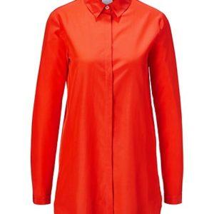 MADELEINE Soie Chemise femme papaye / orange