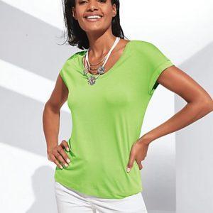 MADELEINE T-shirt femme kiwi / vert