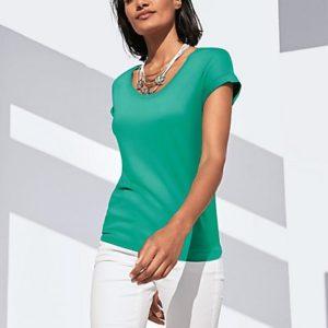 MADELEINE T-shirt femme menthe poivrée / vert