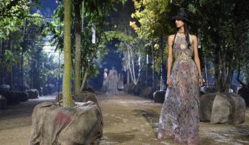 Dior: ode à une femme indépendante dans un jardin durable.