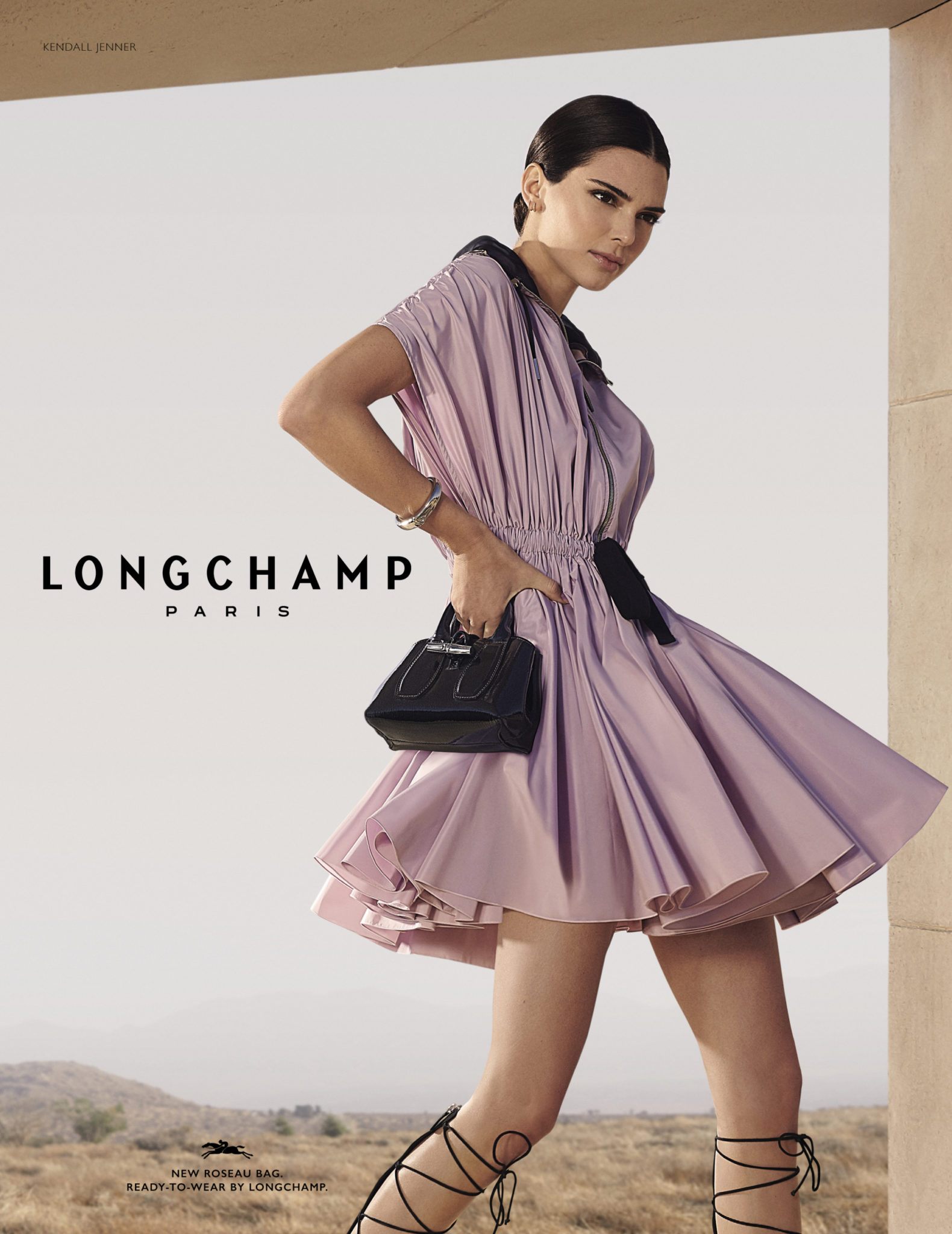 Columbine Goldsmith Longchamp benudemagazine