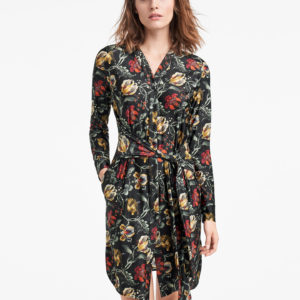 Jungle Print Dress - 8886 - M
