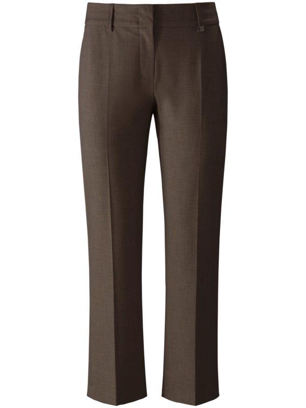Le pantalon 7/8 modèle Dora Cropped Raffaello Rossi marron taille 42