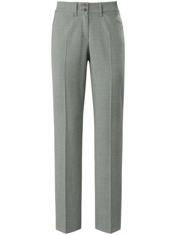 Le pantalon Feminine Fit modèle Celine Brax Feel Good gris taille 38
