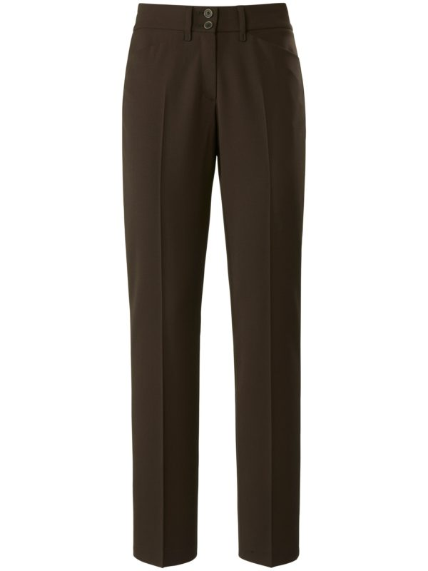 Le pantalon Feminine Fit modèle Celine Brax Feel Good marron taille 38