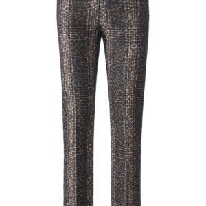 Le pantalon à ceinture mode-lante Lisette L. multicolore taille 38