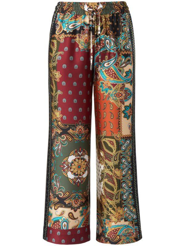 Le pantalon longueur chevilles modèle Helena Raffaello Rossi multicolore taille 38