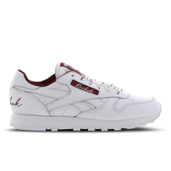 Reebok Classic Leather Scripted - Femme Chaussures