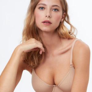 Soutien-gorge corbeille, bonnet e - PURE FIT® - 90E - Beige - Femme - Etam