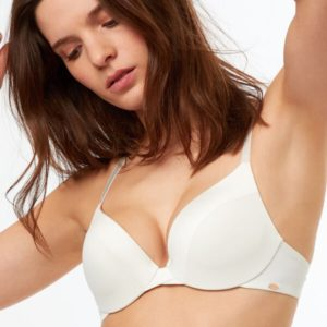 Soutien-gorge n°2 - push up plongeant - PURE BY - 85A - Ecru - Femme - Etam