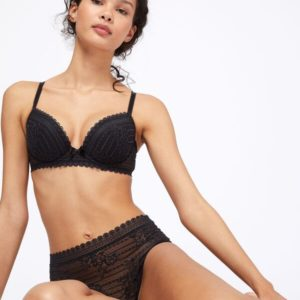 Soutien-gorge n°5 - coques fines - PANAMA - 85D - Noir - Femme - Etam