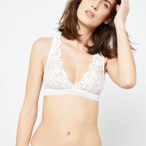 Soutien-gorge n°9 : triangle brassière - SUCCESS - S - Ecru - Femme - Etam