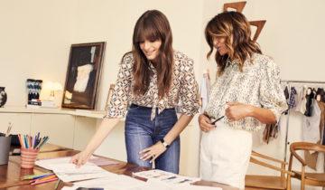 Clara Luciani s'essaie à la mode pour Sandro