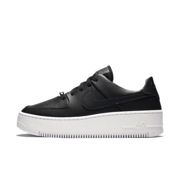 Chaussure Nike Air Force 1 Sage Low pour Femme - Noir