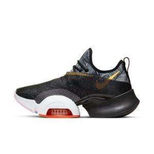 Chaussure d'entraînement fractionné haute intensité Nike Air Zoom SuperRep pour Femme - Noir