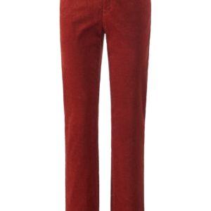 Le pantalon velours Feminine Fit modèle Carola Brax Feel Good orange taille 38