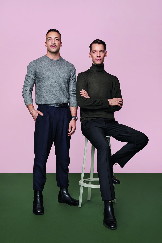 Tomas Ric and Jakub Hiermann
