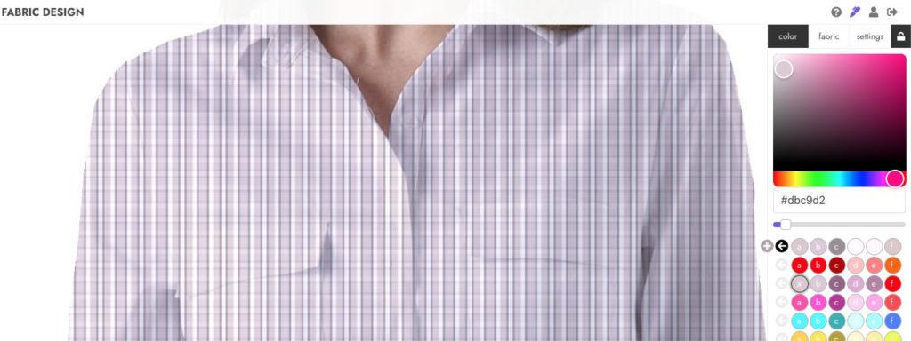 Abstraktion colorways fabric tissu variations de couleurs