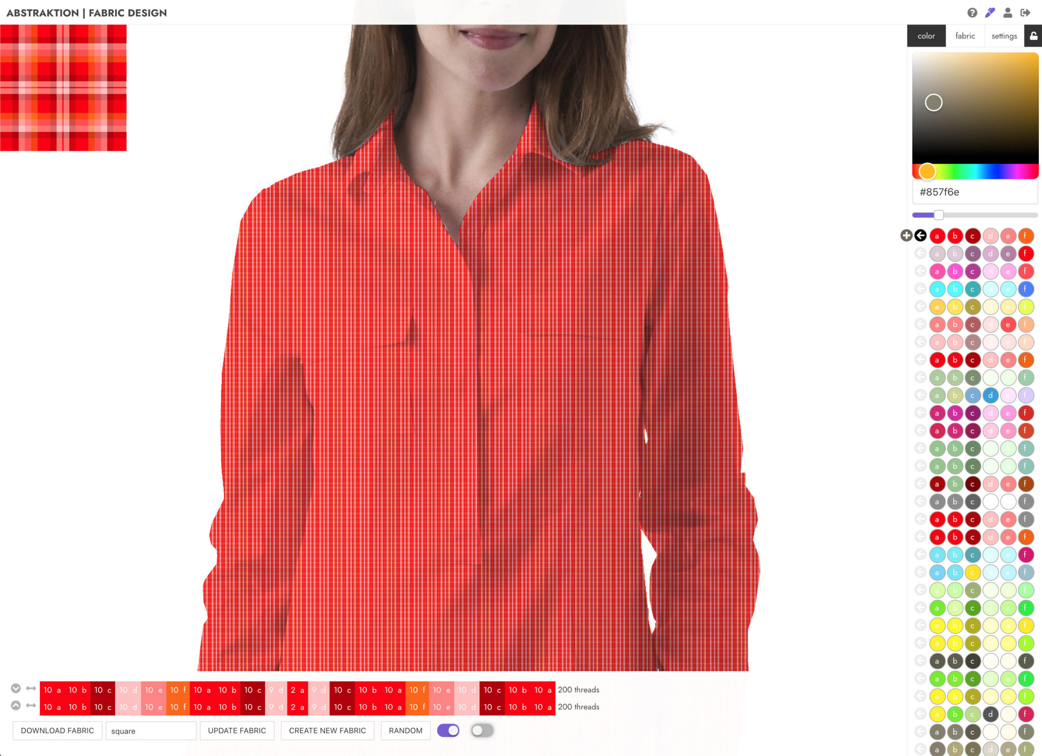 abstraktion saas fabric software